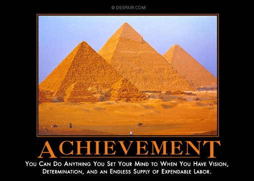 achievementdemotivationalposter